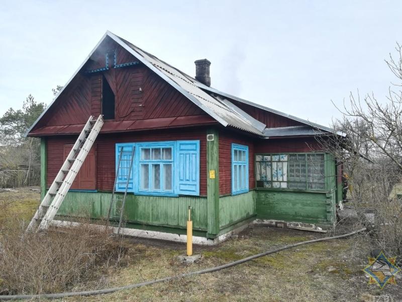 Двое мужчин погибли на пожаре в Брестском районе (д. Збунин)