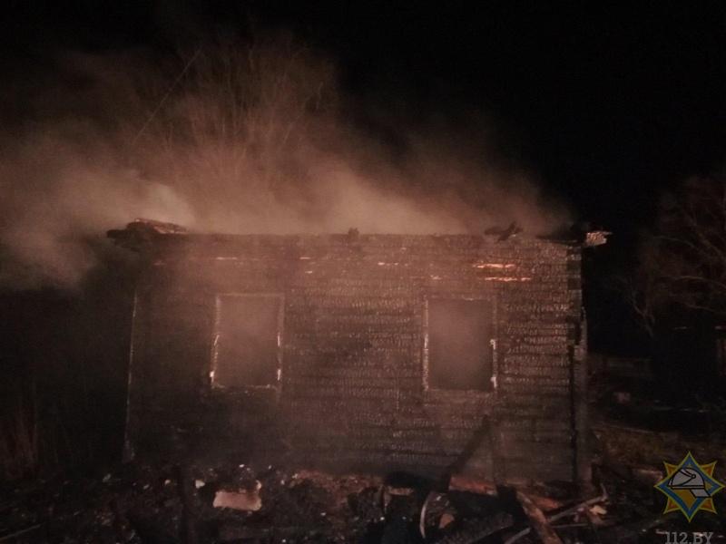 Мужчина приехал в гости к брату в Дрогичинский район и погиб при пожаре