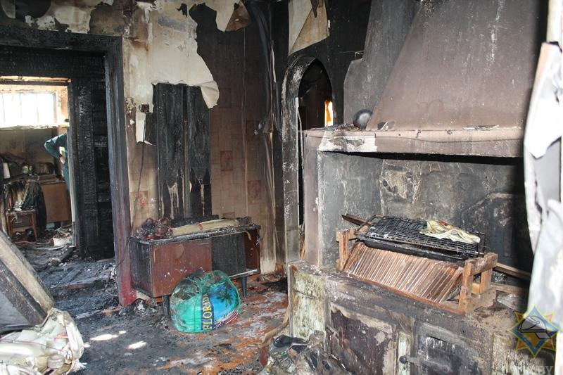 За сутки в Пружанском районе произошло два пожара