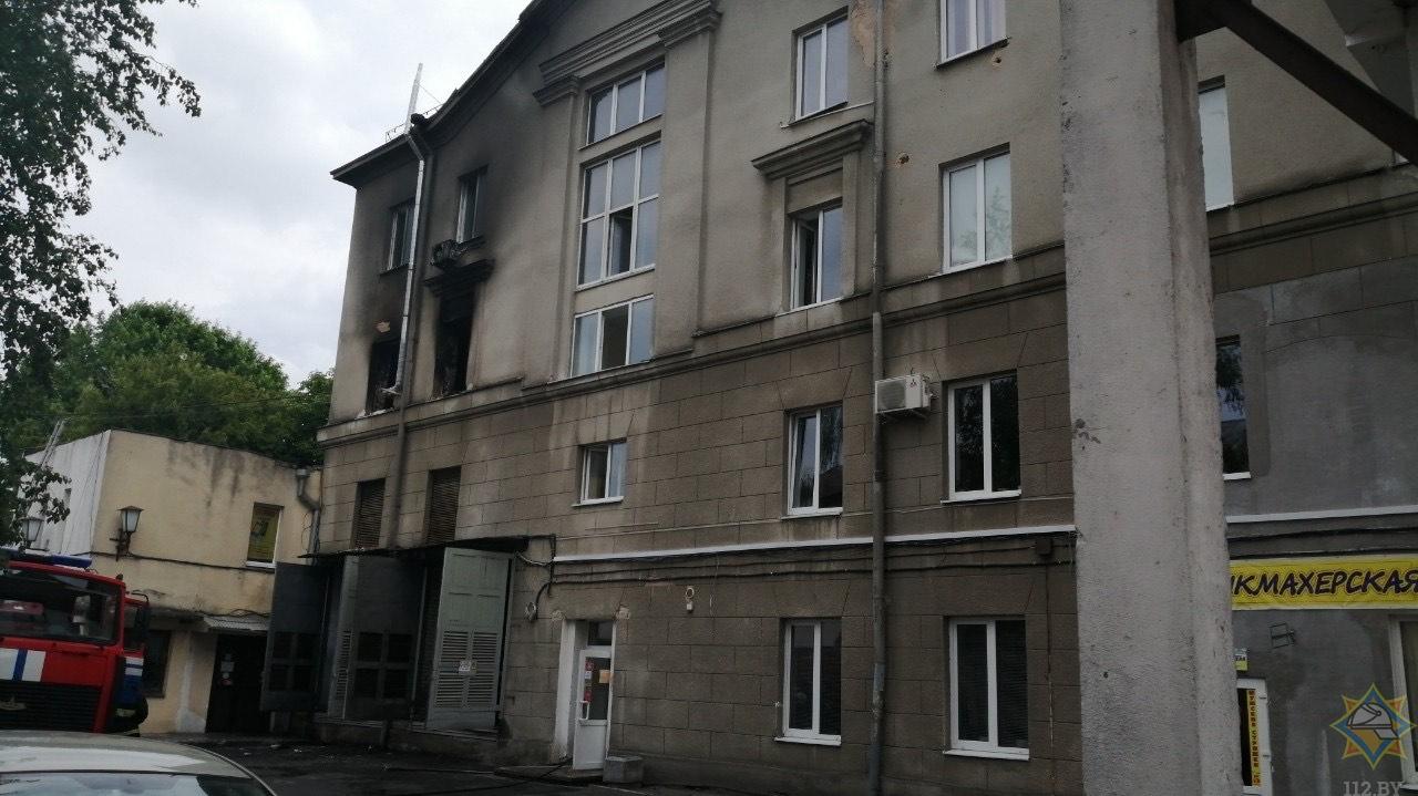 Показываем, как выглядят помещения после пожара на Куйбышева, 13