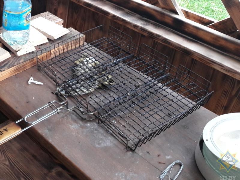 Житель Брестского района получил ожоги, разжигая барбекю с помощью ЛВЖ