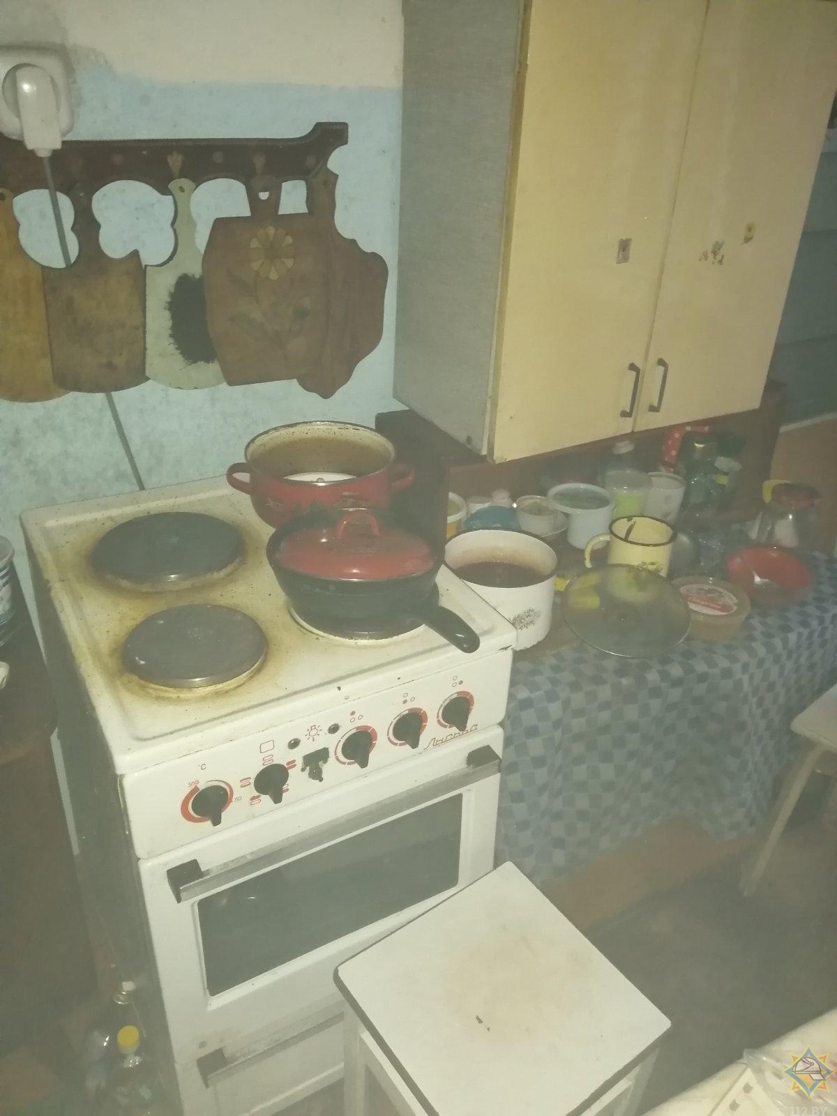 Подгорание пищи едва не привело к непоправимым последствиям