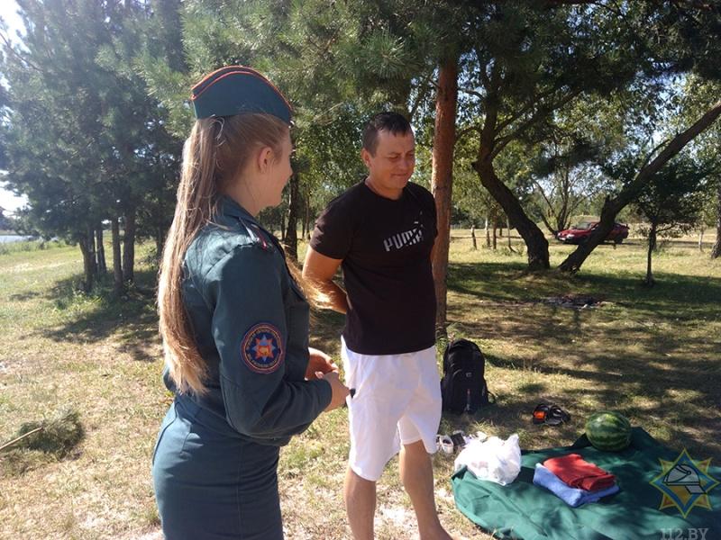 Летний патруль по водоемам Малоритского района