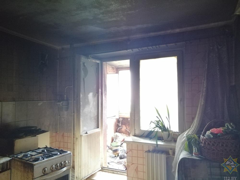 Пожар в Бресте по ул. Мошенского: спасли пенсионера, эвакуировали людей