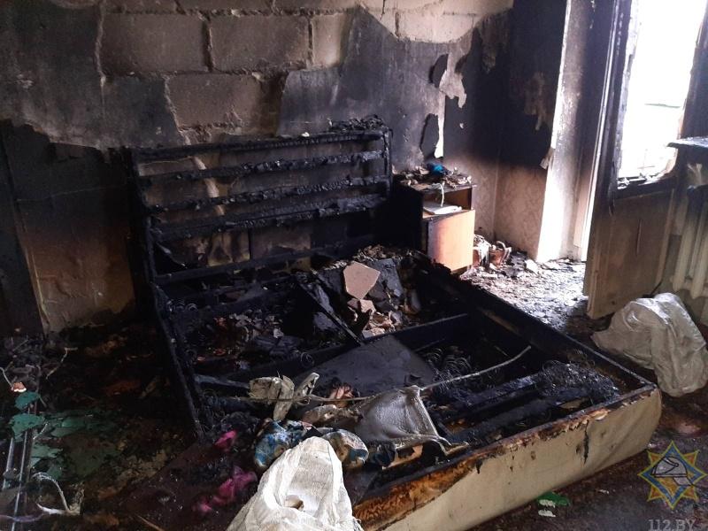В Ивацевичском районе очевидец спас ребенка на пожаре