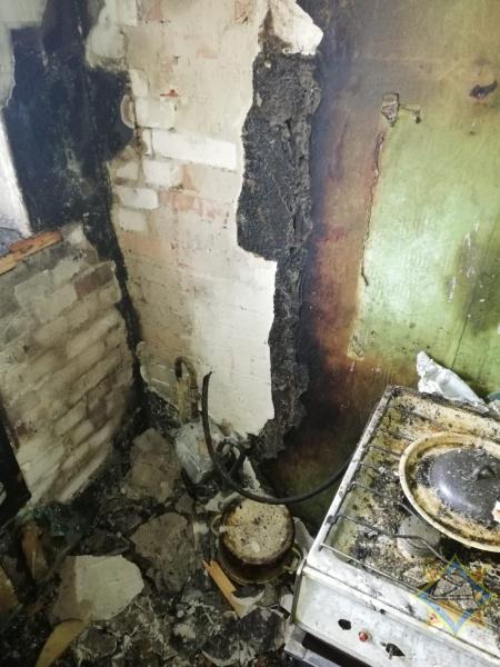 В Бресте двое мужчин спасли соседа на пожаре по ул. ГОБК