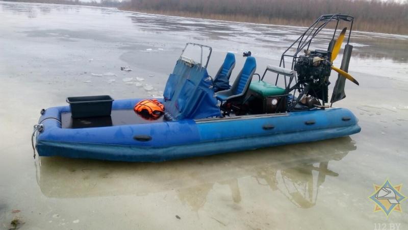 Аэроглиссер перевернулся на реке в Столинском районе: два человека утонули