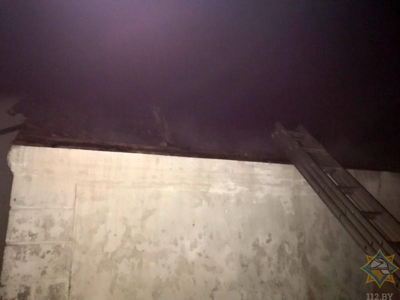 В Пружанском районе АПИ помог вовремя обнаружить пожар