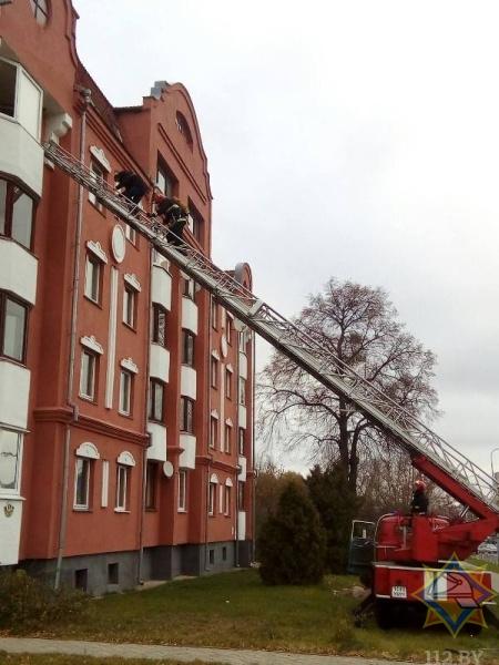 """В Ивацевичах """"типа"""" горела квартира. На самом деле это были учения МЧС"""