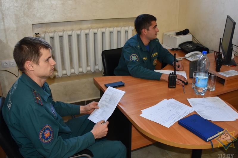 В Бресте определили лучшего диспетчера МЧС области