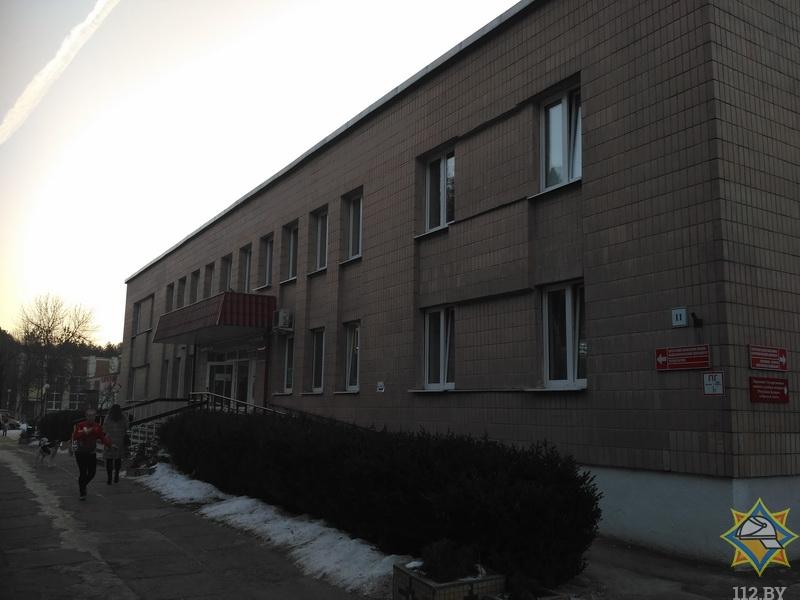 Что сегодня горело в Брестской областной больнице?