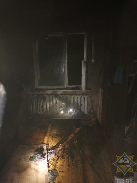 Житель агрогородка Мир Барановичского района на пожаре спас брата